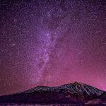 Capture of the Milky Way at El Teide Volcano on Tenerife