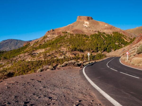Droga z widokiem na Guajara - Quady na Teneryfie