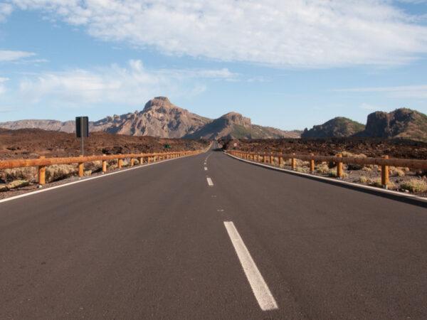 Droga w kalderze Las Canadas - Quady na Teneryfie