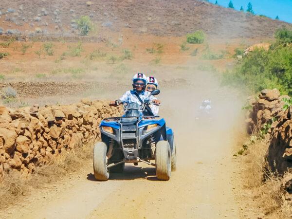 Quady Teneryfa - przejazd off-road