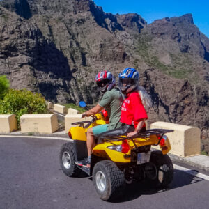 Quady Masca - quad na drodze