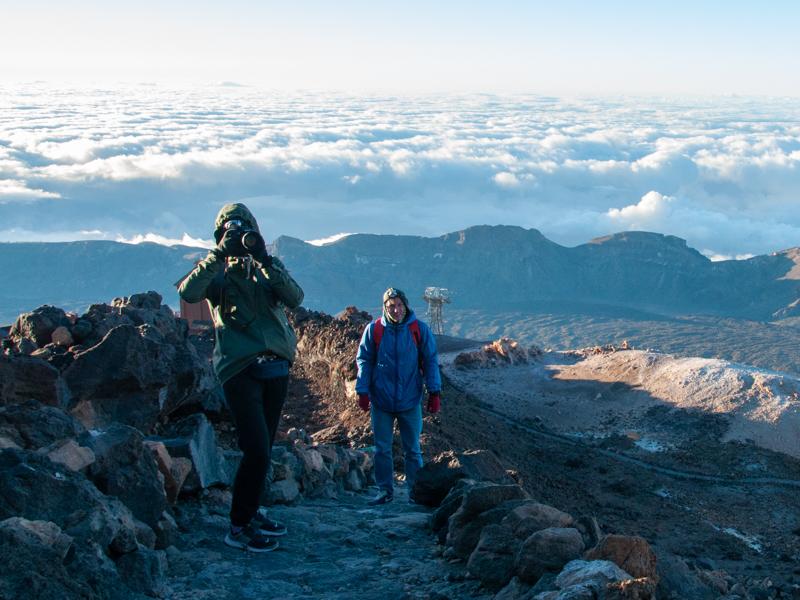 Szlak na El Teide