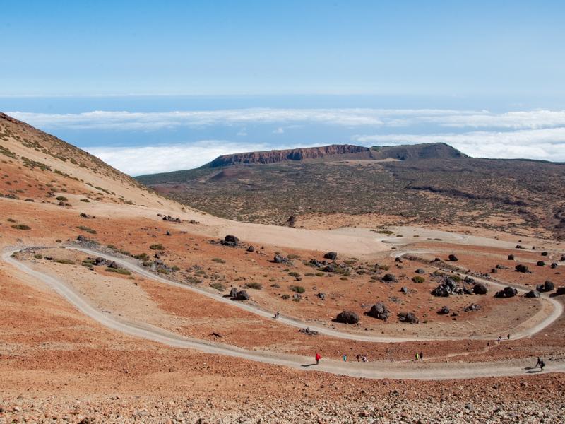 Szlak montańa blanca