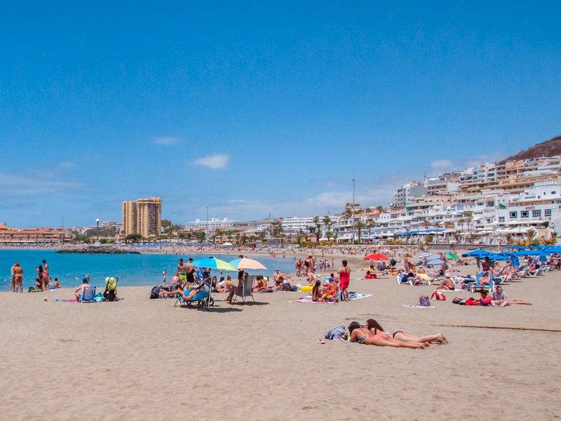 Plaża playa las Vistas