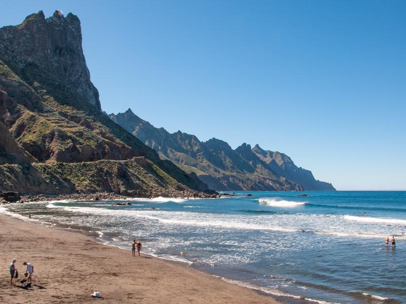 Plaża playa de Benijo