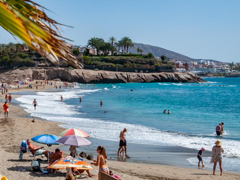 Plaża playa del Duque