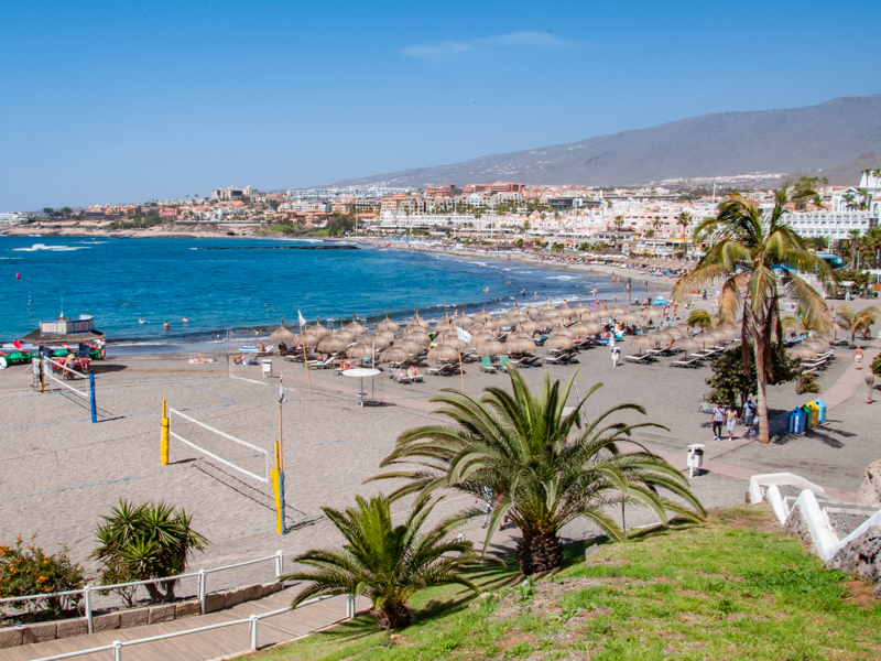 Plaża playa de Torviscas