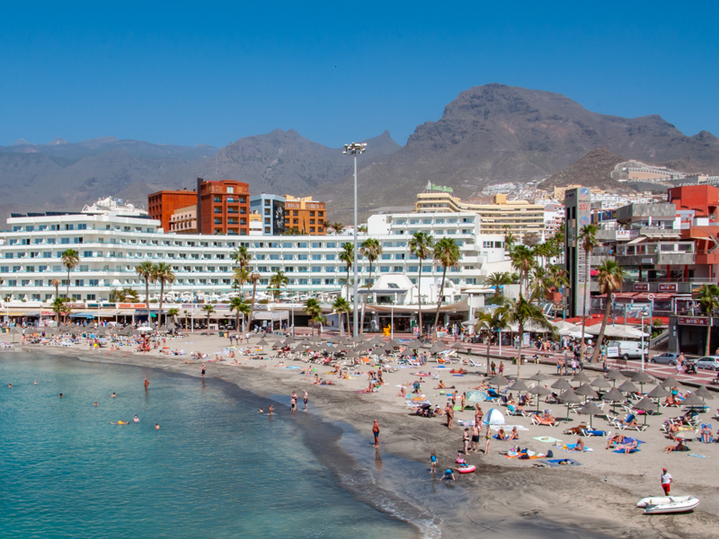 Plaża playa la Pinta