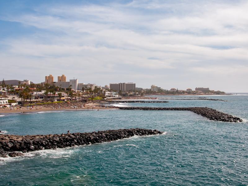 Plaża playa de Troya