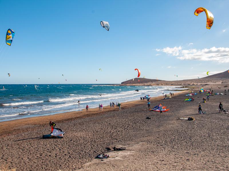 Plaża playa la Tejita