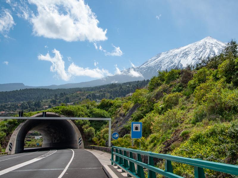 El Teide - zima