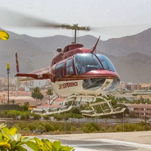 Helikopter na Teneryfie