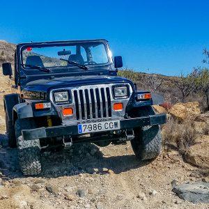 Jeep Wrangler - off-road